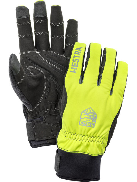 Hestra Ergo Grip Long Finger Gloves gul/svart